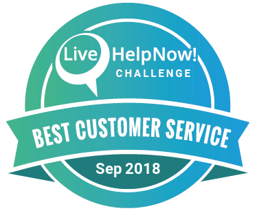 LiveHelpNow Challenge Winner for Sep 2018